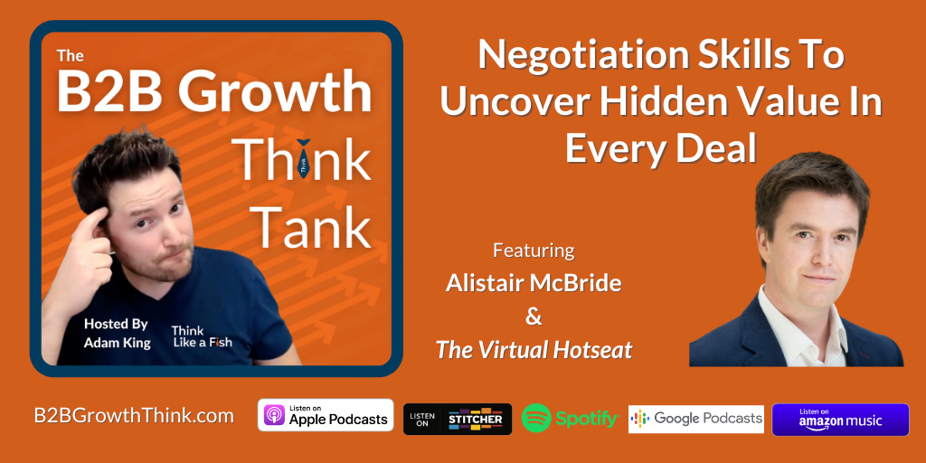 negotiation skills to uncover hidden value in every deal with Alistair McBride