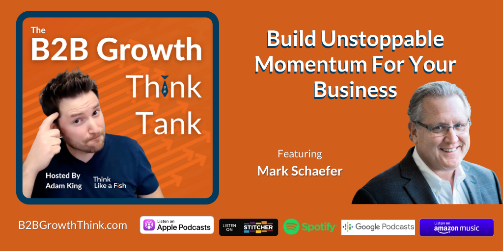 B2B Growth Think Tank - Adam King - Build Unstoppable Momentum For Your Business with Mark Schaefer